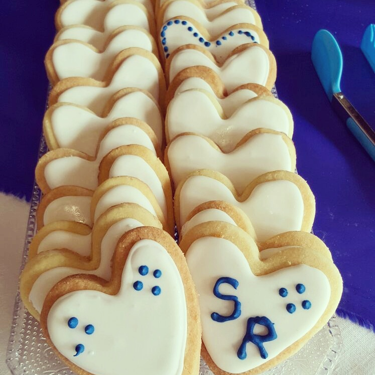 Biscuits Shortbread mariage