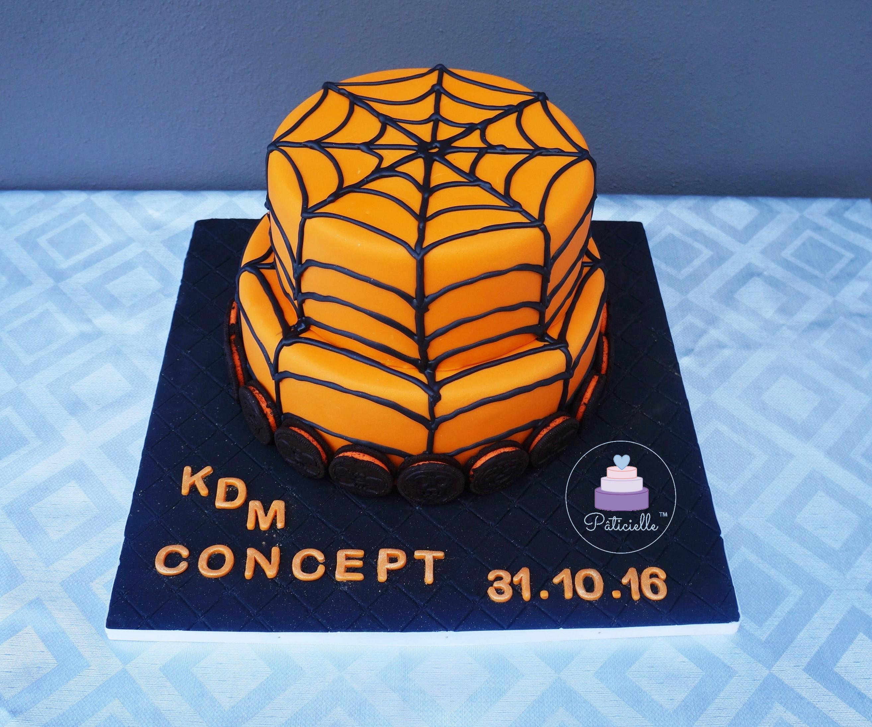 Gâteau Araignée Orange