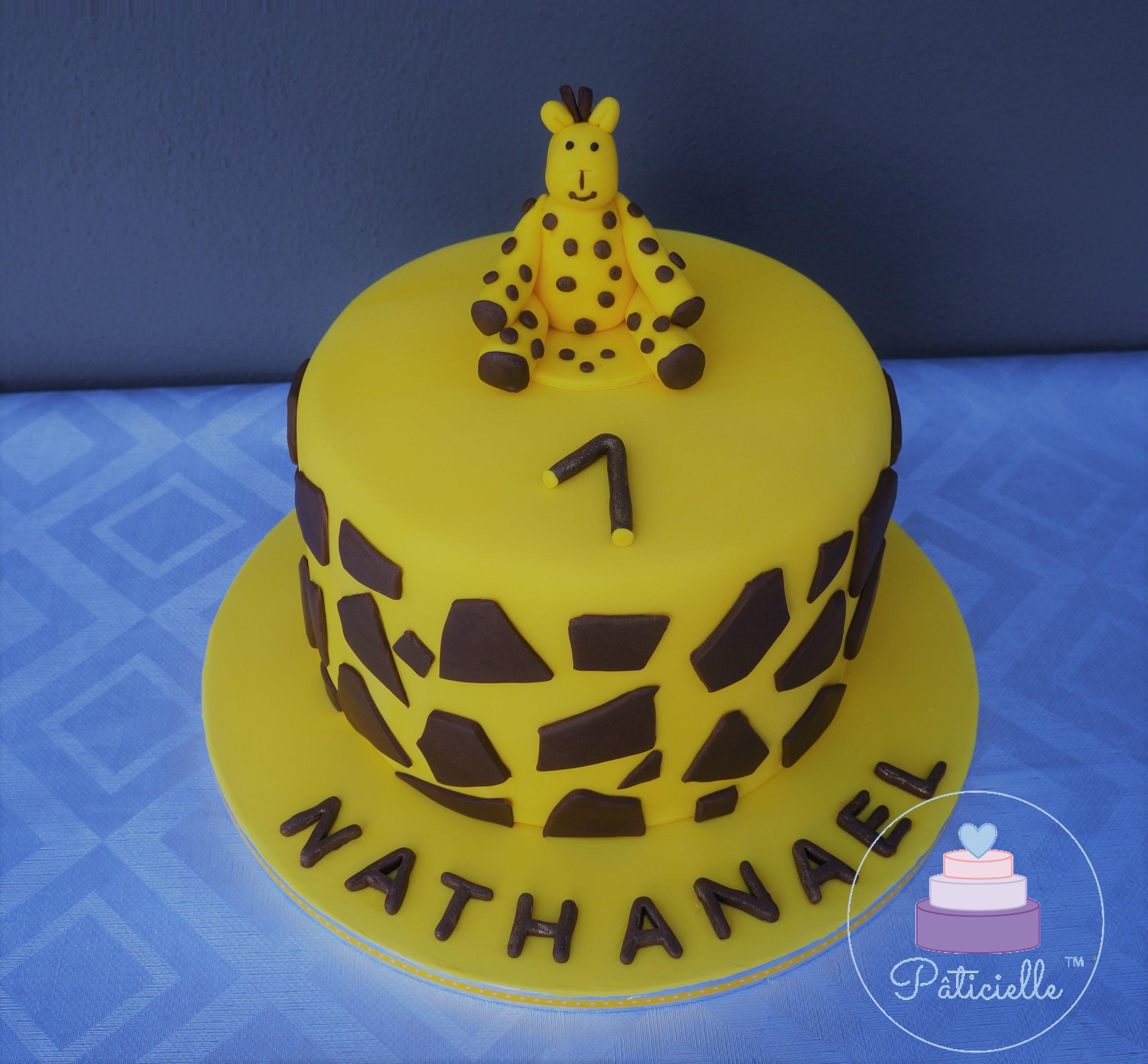 Girafe cake