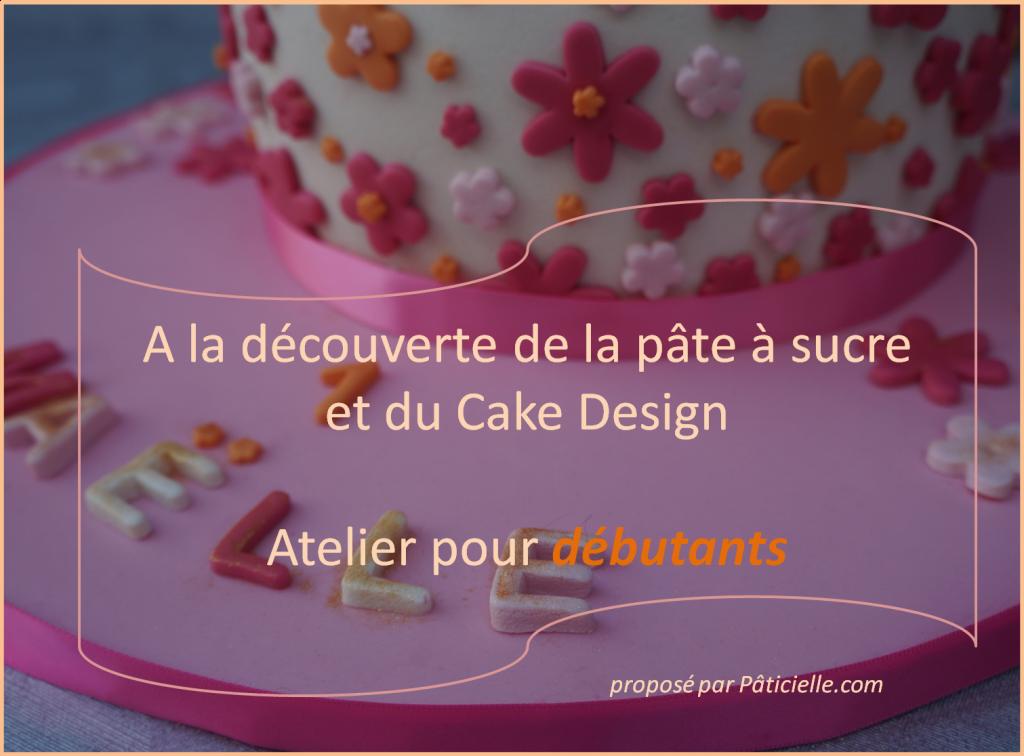 Atelier Cake Design pour débutant