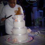Prestation mariage du wedding cake