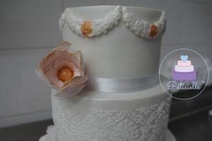 cake design white cake