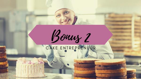 business plan cake design - emprunt bancaire - prêt bancaire - financement